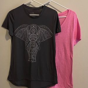Two Short sleeve T's